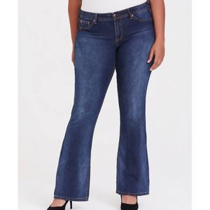 TORRID Source of Wisdom Isabella Lt Wash Jean 14S